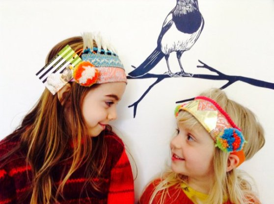 Mini Magpie headband